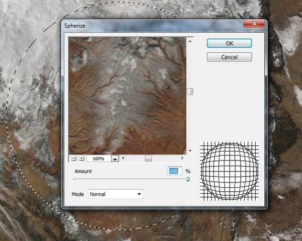 spherize filter