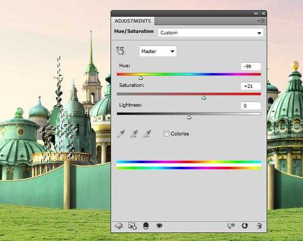 BD 10 hue saturation