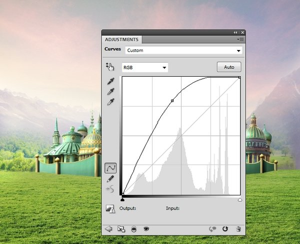 landscape 2 curves