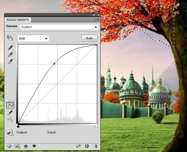 leaves curves 1