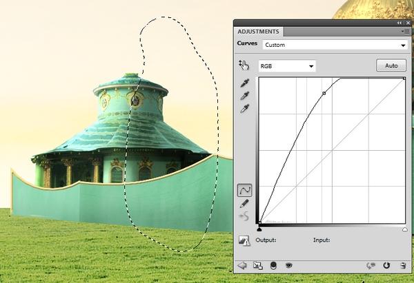 building 2 curves