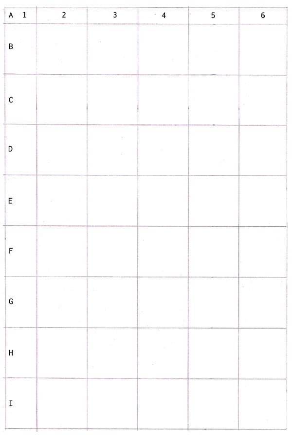 You can choose to label your grid if you wish