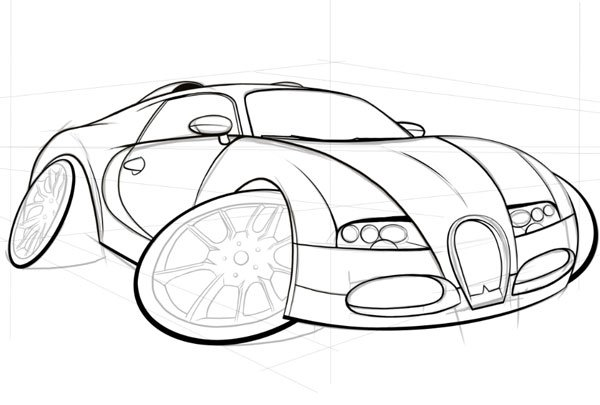 Following previous steps work on the rear wheel and wheel on the opposite side