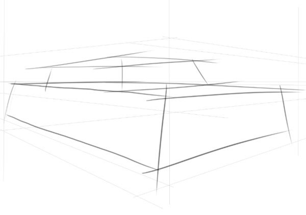 Now draw in a second smaller box