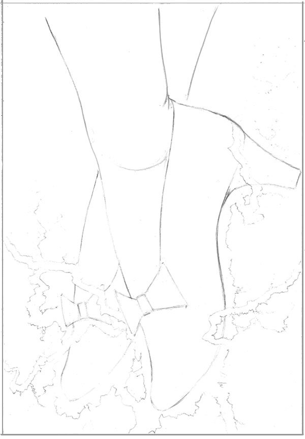Our clean line art ready for rendering