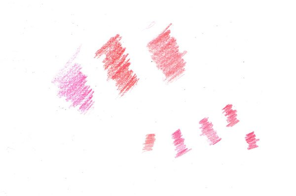 To find the right colour for our image you might find it very useful to test your colours on a spare sheet of paper