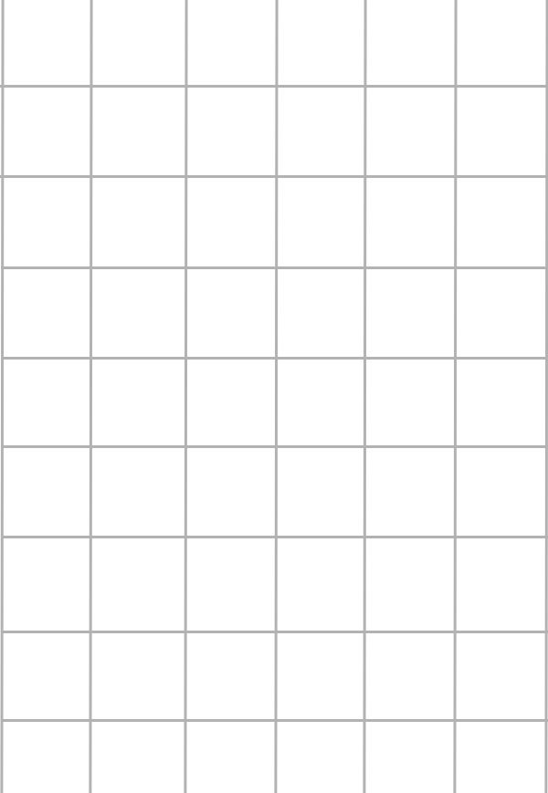 How your grid should look if drawn correctly