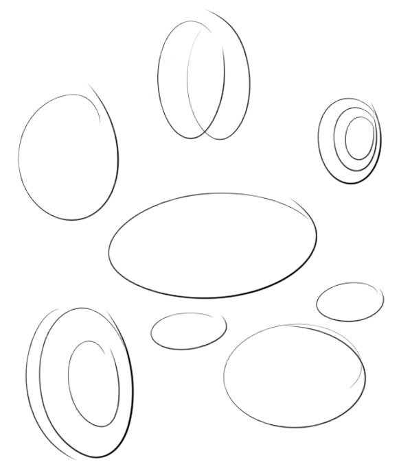 If you are not comfortable with ellipses I recommend you practice first
