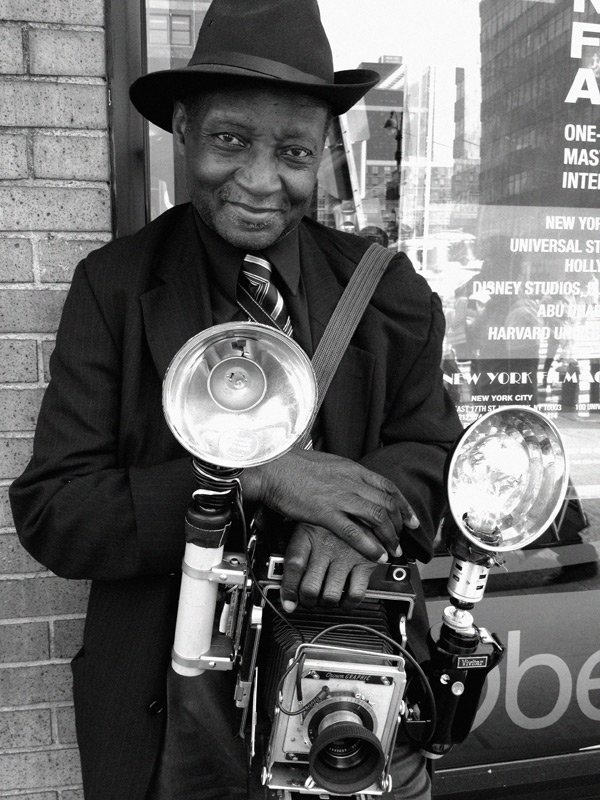 Photographer Louis Mendes