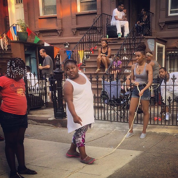 Hart Street Bed-Stuy Brooklyn 2015 Photograph by Amy Touchette