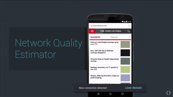 Network Quality Estimator at work