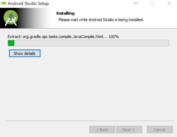Android Studio Installation