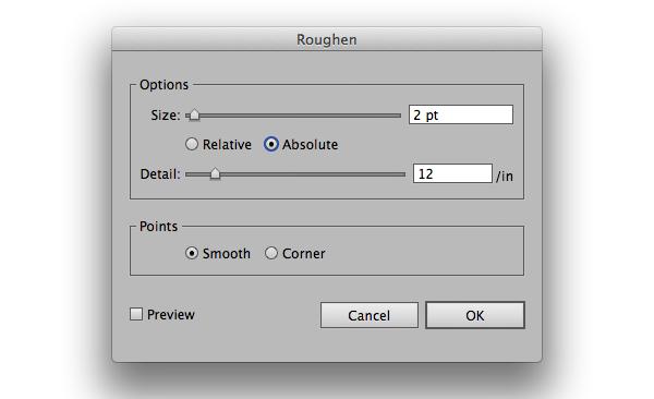Using Adobe Illustrators Roughen Effect to Add Details