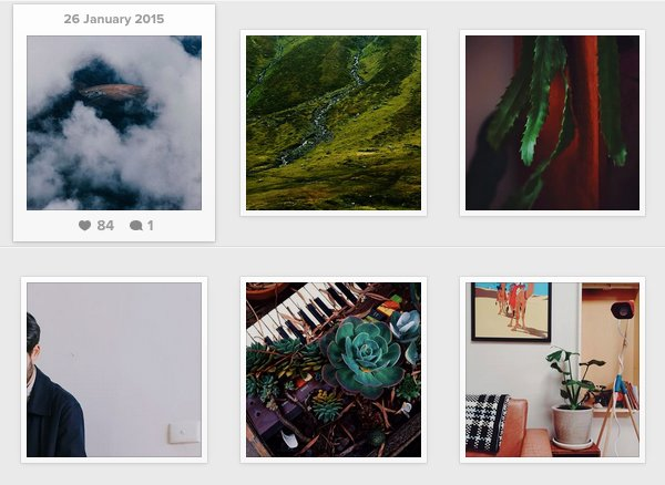 A selection of photos from my Instagram feed