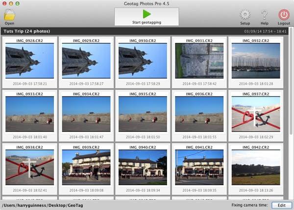 geotag desktop