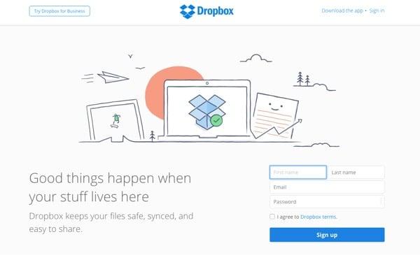 dropbox site