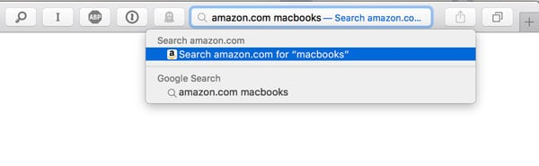 quick website search