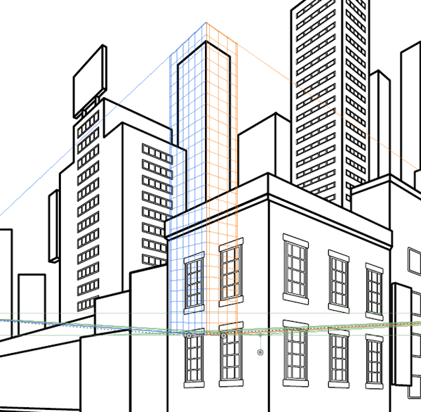 Adjusting the Perspective Grid Tool
