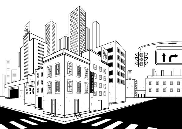 Finished city setting