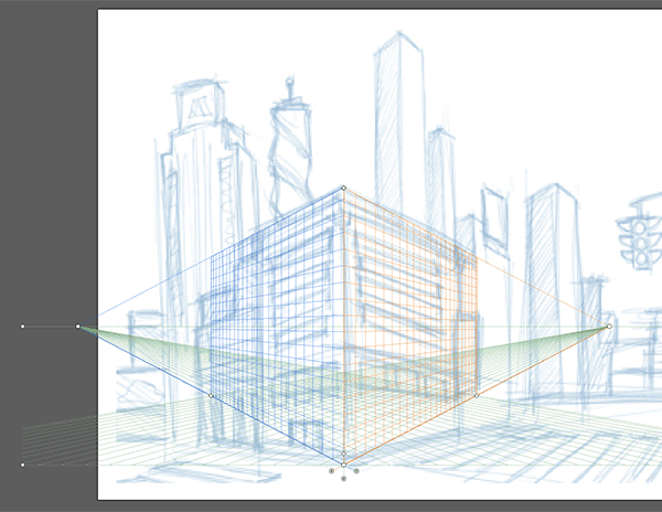 The Perspective Grid Tool in Adobe Illustrator