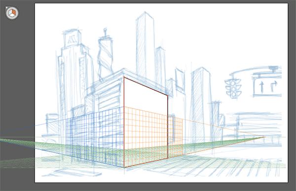 Orange side of the grid
