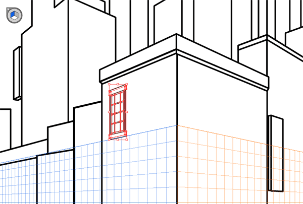 Window in perspective