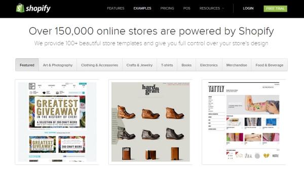 Shopify templates