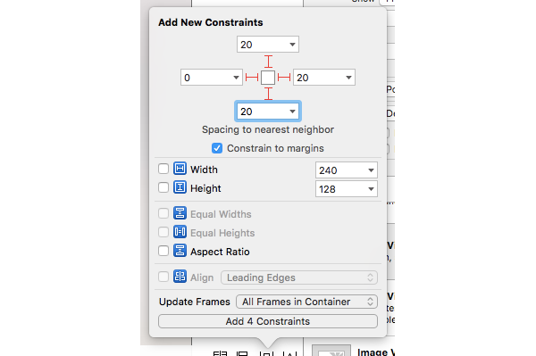 Table View Constraints