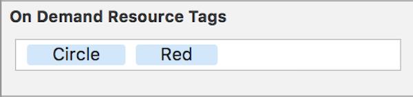Red Circle tags