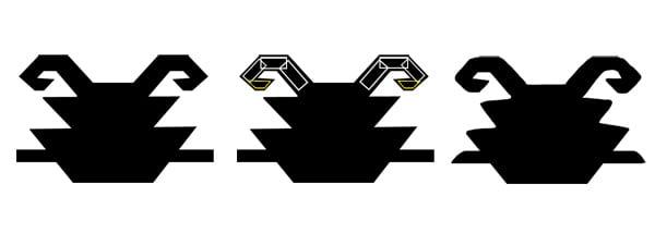 The Turtle motif - completing the form