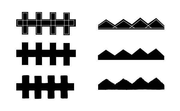 Simple frame designs