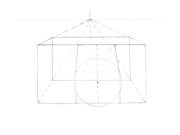 Drawing the lens