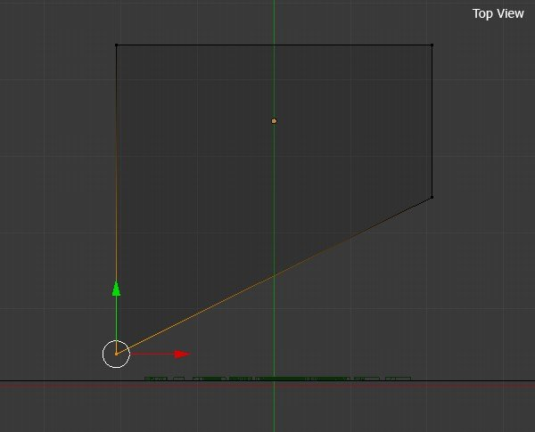 Move the vertices to front