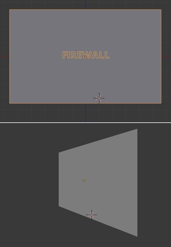 Objects appearing seamless