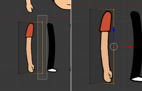 Creating the arm