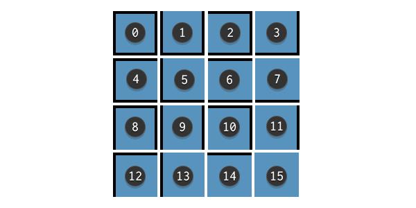 Example terrain sprite sheet for tile bitmasking