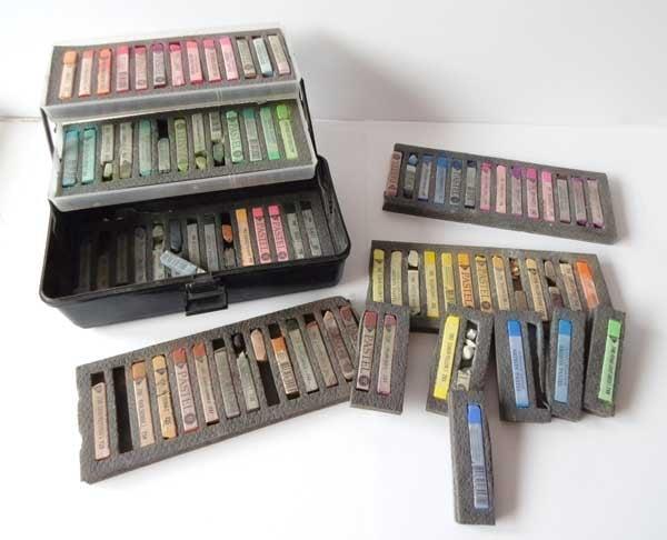 Squared pastels
