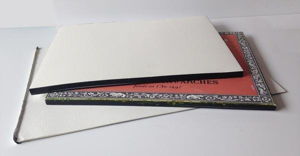 Watercolour pads