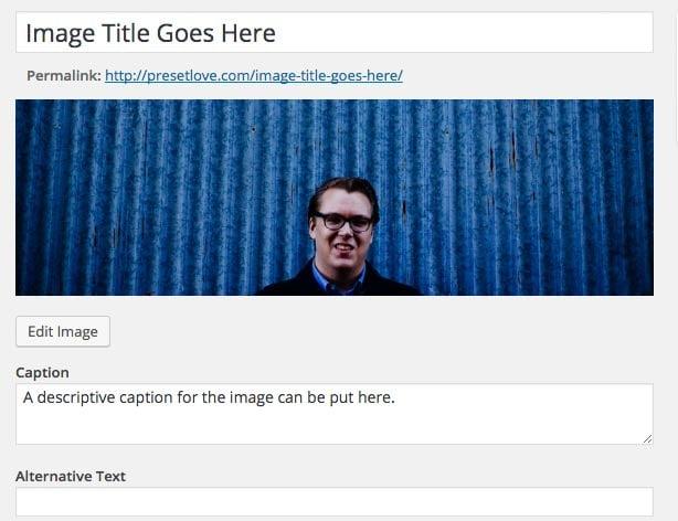Image Uploaded to WordPress
