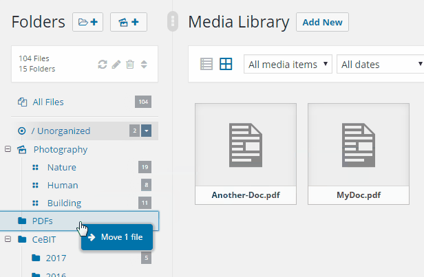 Real Media Library