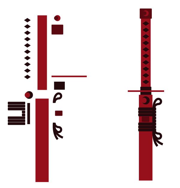 Create the Samurai Sword