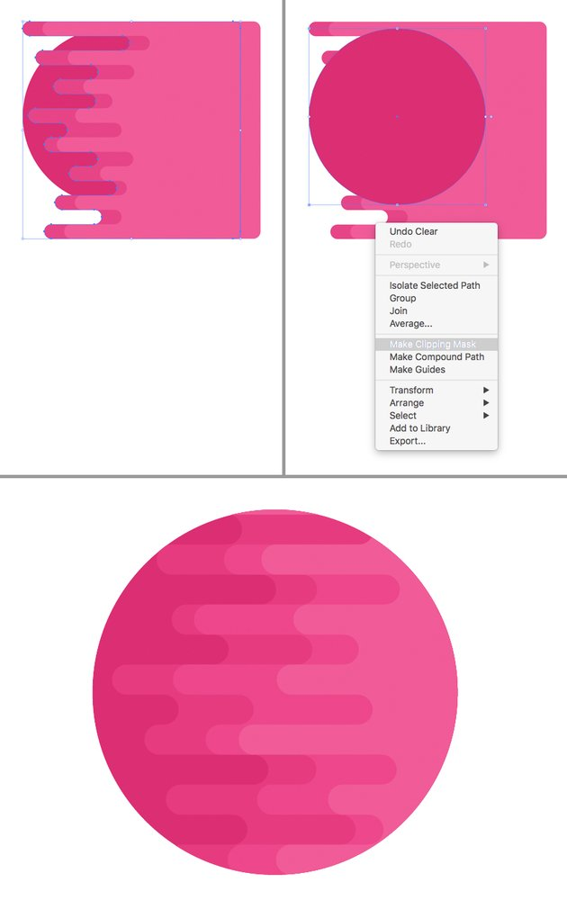 make a clipping mask