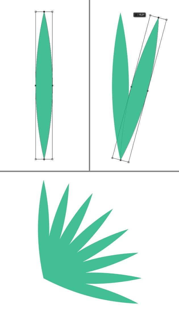 rotate the leaf