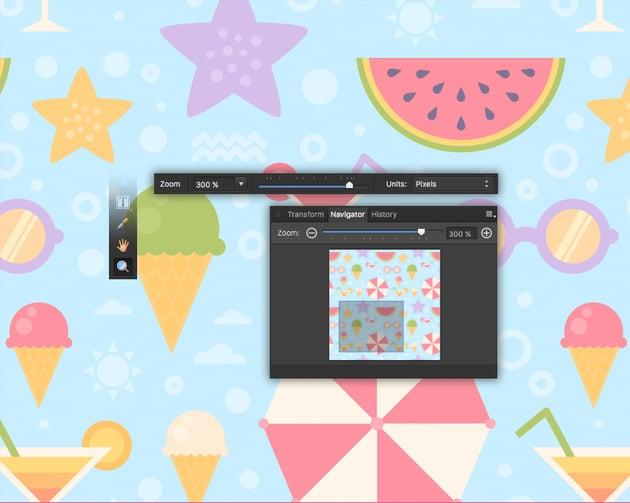 affinity designer zoom tool
