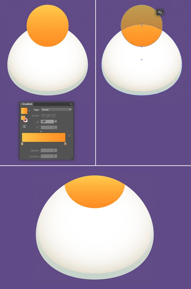 use the shape builder tool