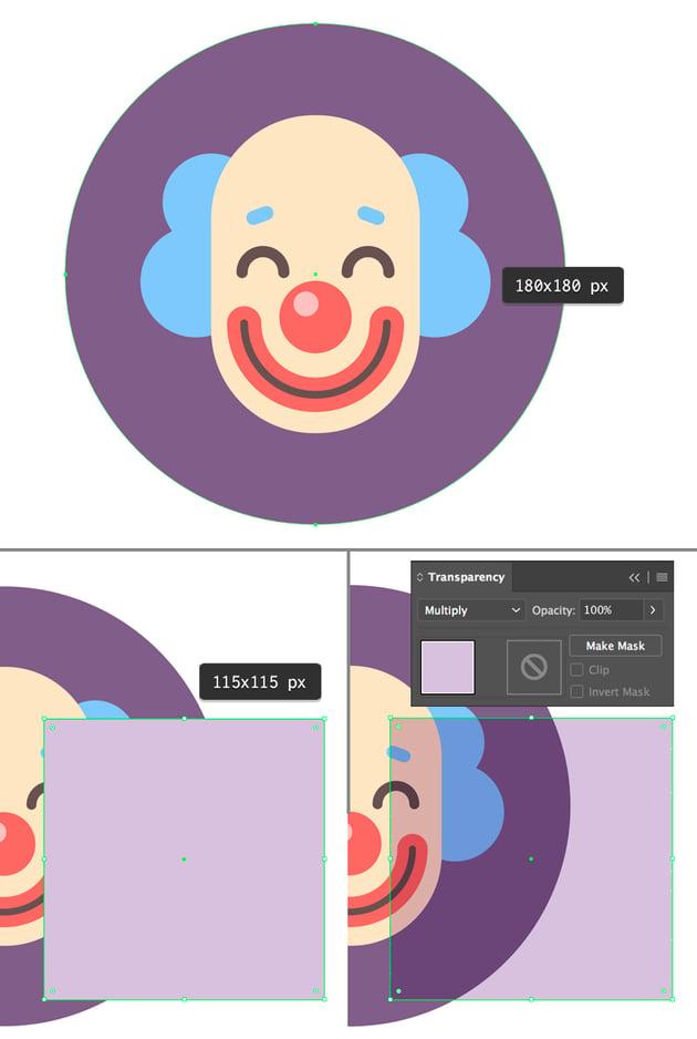 make a circle icon base