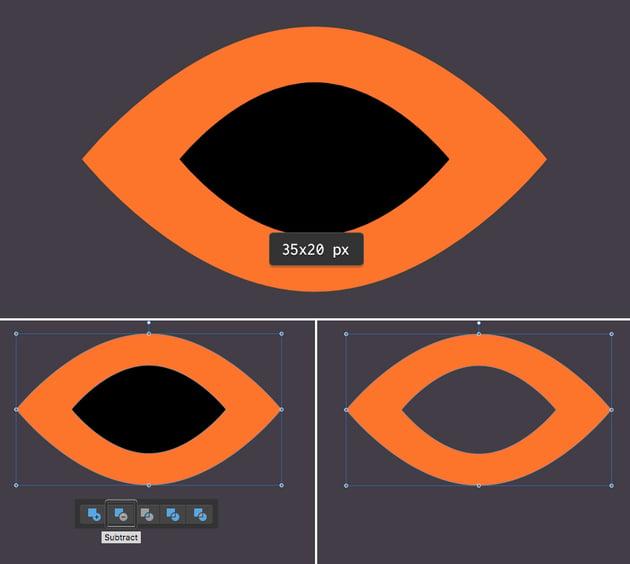 create a burglar mask from ellipses 2