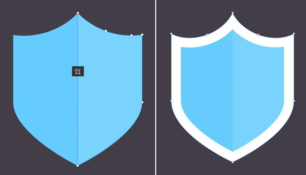 add details to the shield