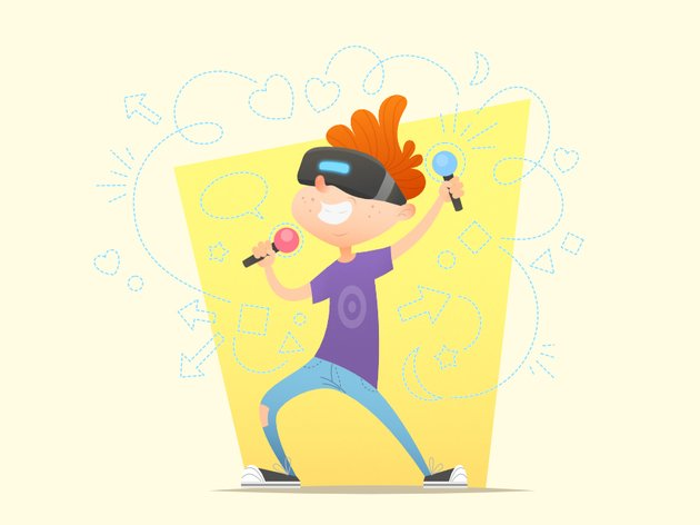 Cartoon VR Kid Character is Finished