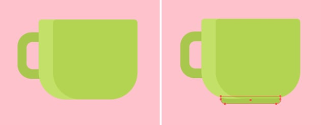 Attach the handle to the mug